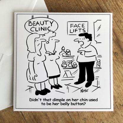 Dimple On Chin Beauty Salon