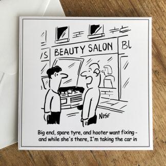 Beauty Salon And Car Repairs