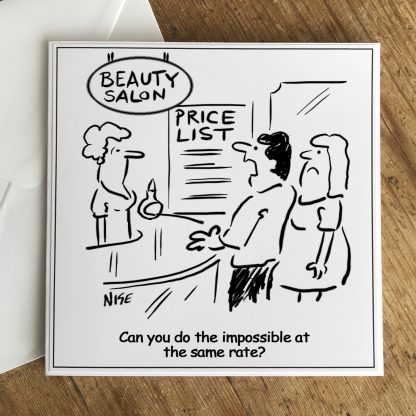 Request For The Impossible Beauty Salon