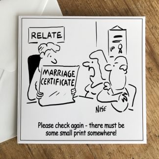 Marriage Certificate Small Print