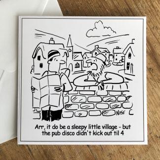 Sleepy Village Local And Rambler
