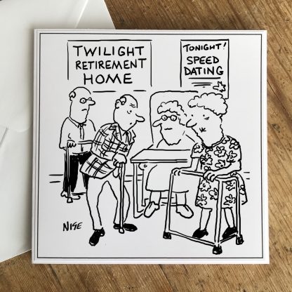 Speed dating at Old People's Home