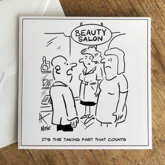 Taking Part That Counts Beauty Salon