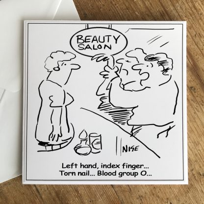 Beauty Salon Broken Nail Horror