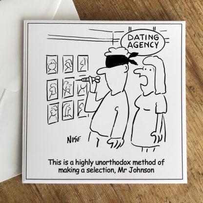 Unorthodox dating selection method