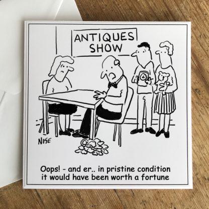 Antiques Roadshow expert drops a valuable item
