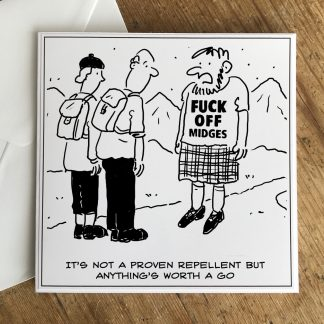 Scottish Midge Repellent